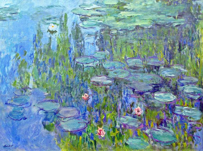 Claude Monet, Water Lilies, 1914