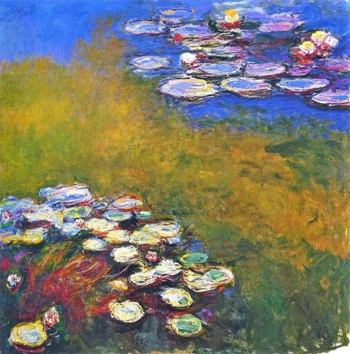 Claude Monet, Water Lilies, 1914-1917