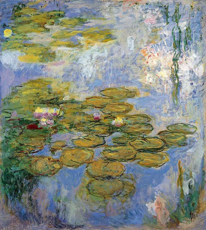Claude Monet, Water Lilies (2), 1916-1919 How To Develop Your Own Artistic Style