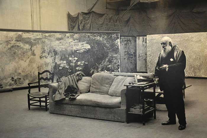 Claude Monet In The Studio