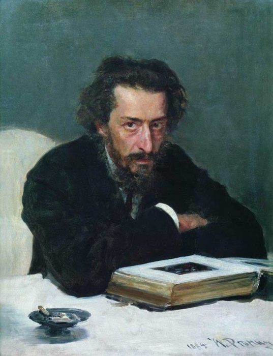 Ilya Repin, Portrait Of Composer And Journalist Pavel Ivanovich Blaramberg, 1884