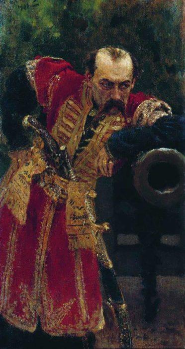 Ilya Repin, Zaporizhian Colonel, 1880
