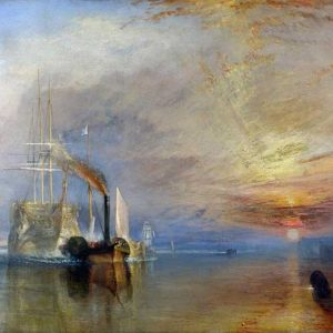 J.M.W. Turner, The Fighting Temeraire Tugged To her Last Berth To be Broken Up, 1839