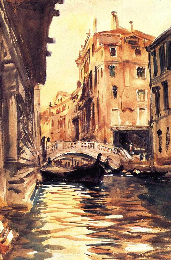 John-Singer-Sargent-Ponte-Della-Canonica-1903