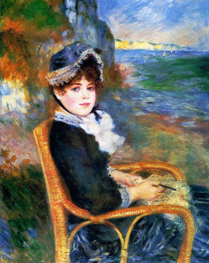 Pierre-Auguste Renoir, By The Seashore, 1883