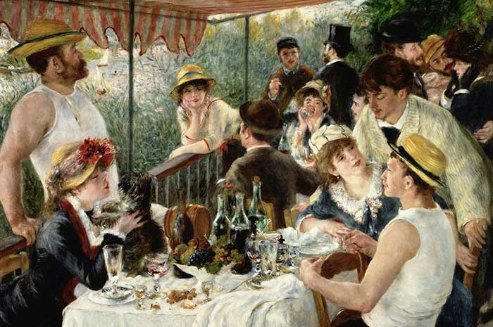 Pierre-Auguste Renoir, The Luncheon Of The Boating Party, 1880-1881