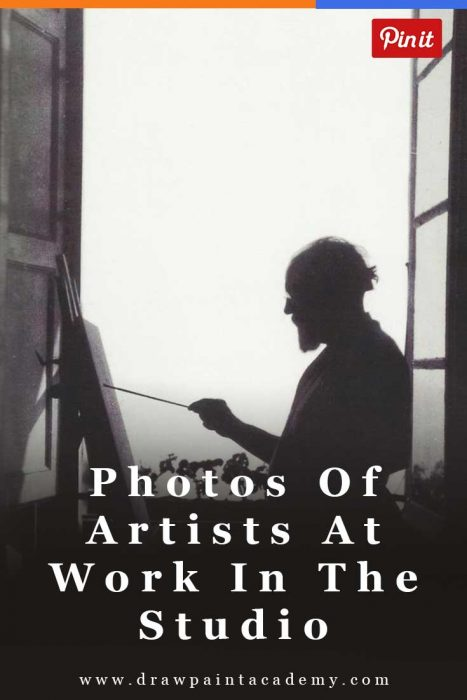Famous Artists At Work In The Studio