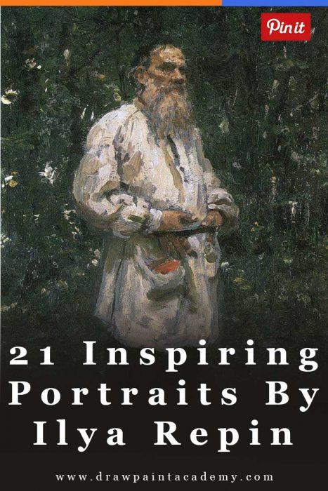 21 Inspiring Portraits By Ilya Repin