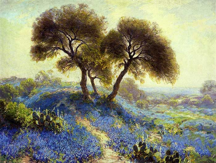 Robert Julian Onderonk, A Spring Morning, 1913