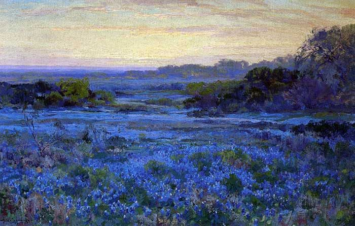 Robert Julian Onderonk, Bluebonnet Scene 2, Date Unknown