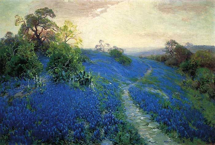 Robert Julian Onderonk, Bluebonnet Field, 1912