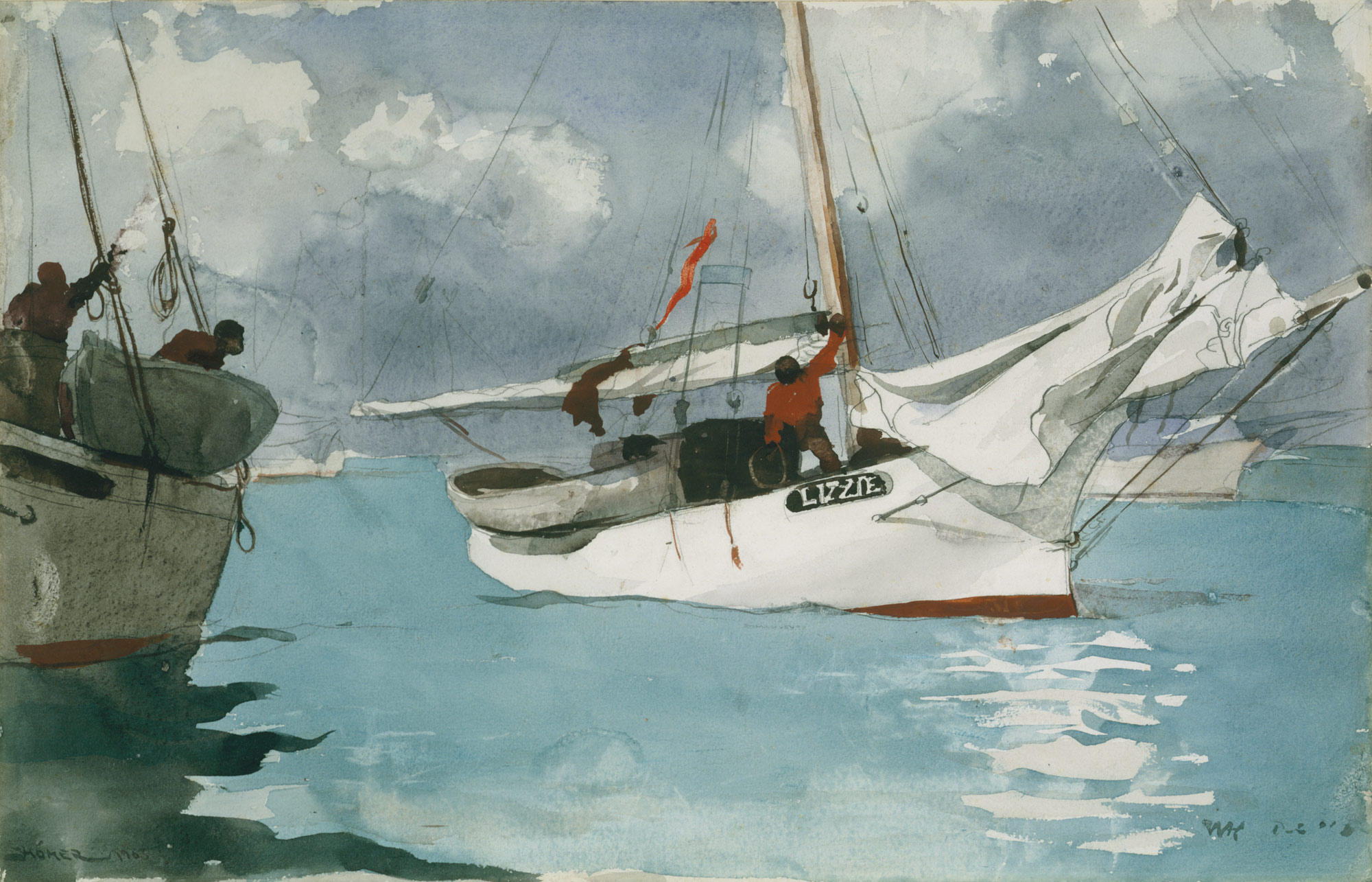 Winslow Homer, Fishing Boats, Key West, 1903