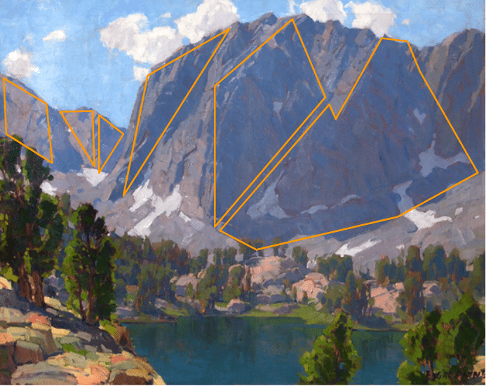 Edgar Payne. How to paint mountains.