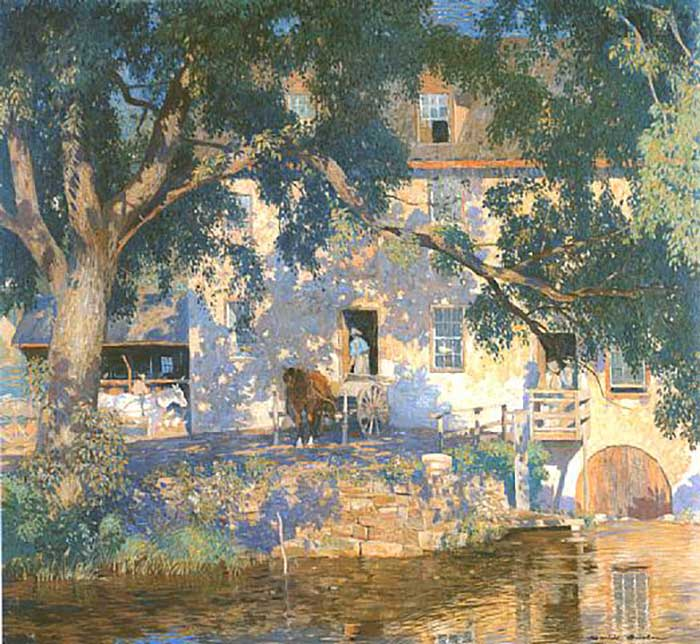 Daniel Garber, Old Mill, 1921