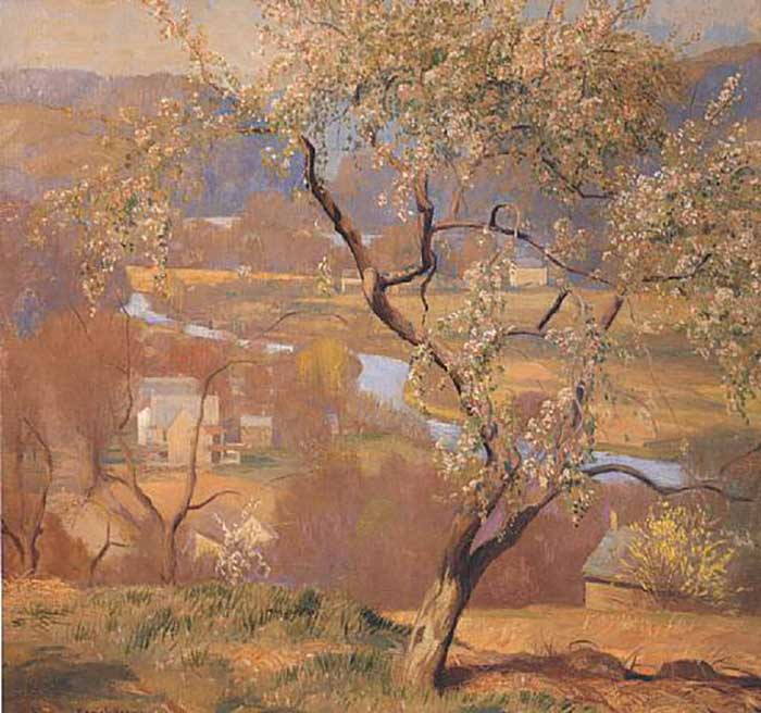 Daniel Garber, The Valley-May, 1930