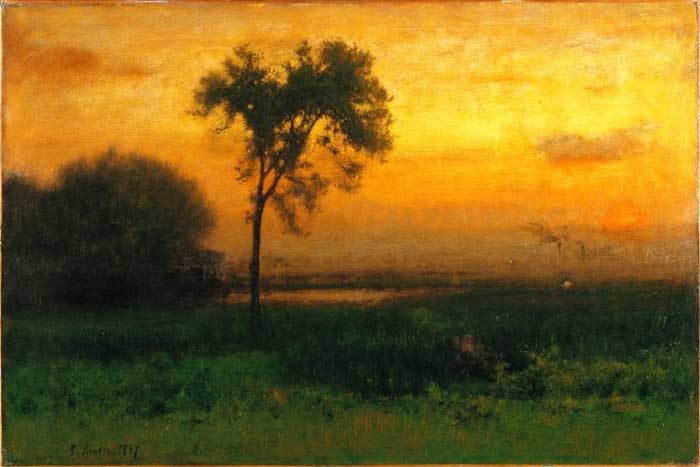 George Inness, Sunrise, 1887