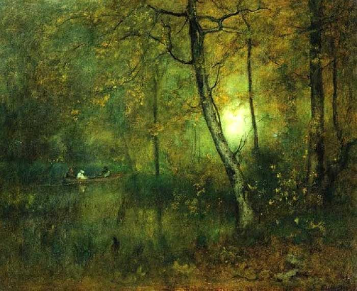 George Inness, Pool in the Woods, 1892