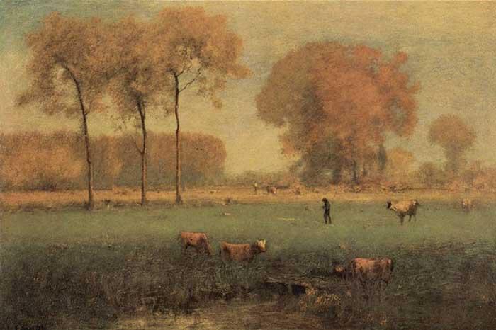 George Inness, Summer Landscape, 1894