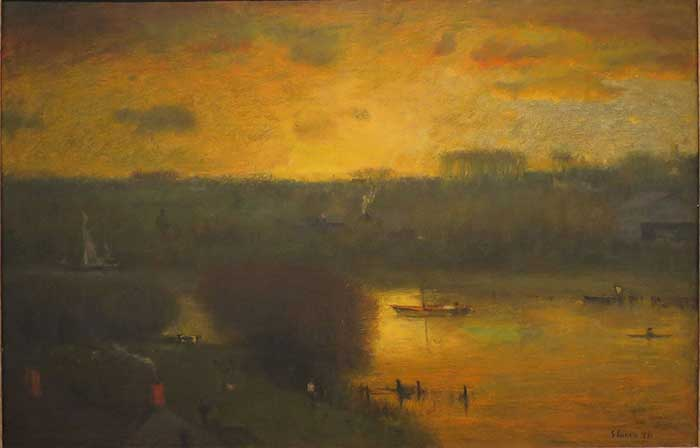 George-Inness-Sunset-On-The-Passaic-1891