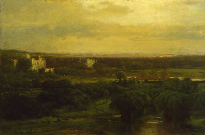 George Inness, The Valley Of The Olives, 1867