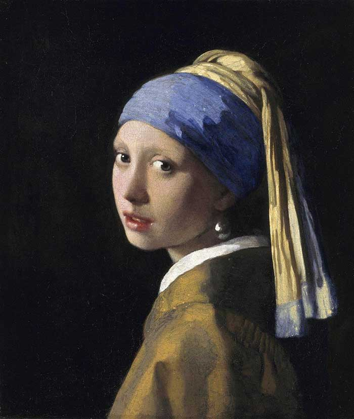 Johannes Vermeer, The Girl With A Pearl Earring, 1665