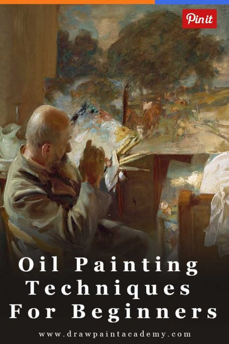 9 oil painting techniques for beginners draw paint academy for Oil painting instructions for beginners
