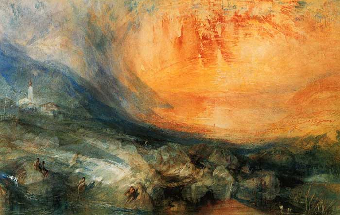 J.M.W. Turner, Goldau, 1841