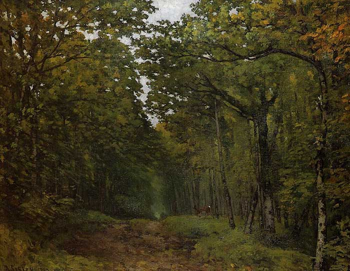 Alfred Sisley, Avenue Of Chestnut Trees Near La Celle Saint Cloud, 1867