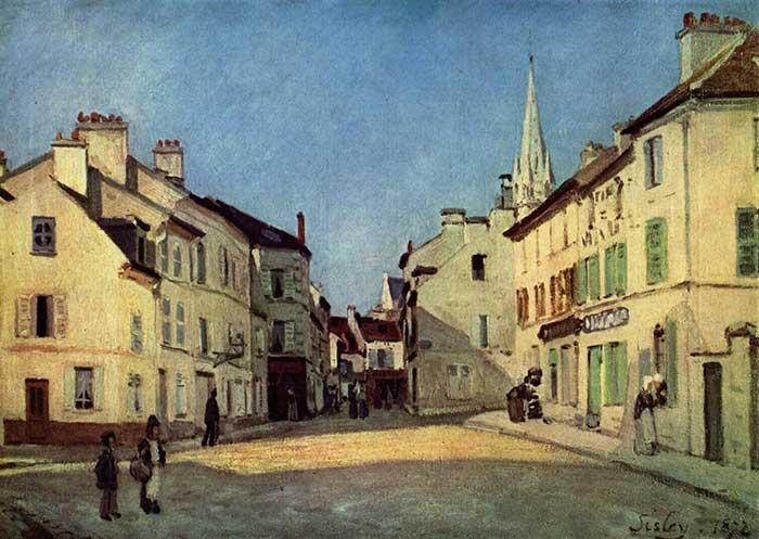 Alfred Sisley, Platz In Argenteuil, 1872