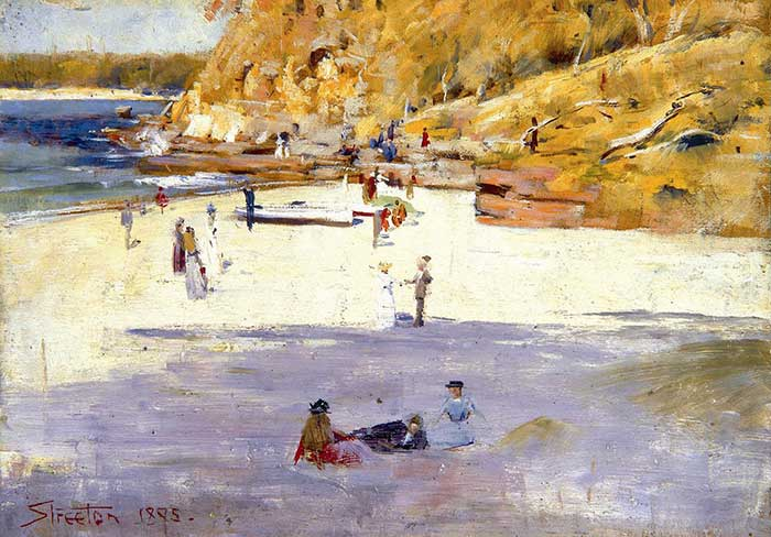 Arthur Streeton, Manly Beach, 1895