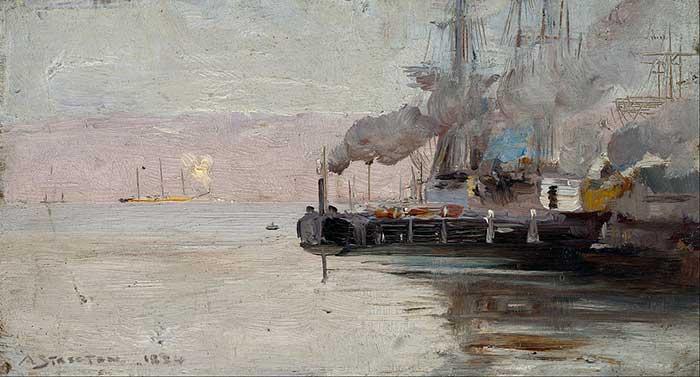 Arthur Streeton, Sandridge, 1888