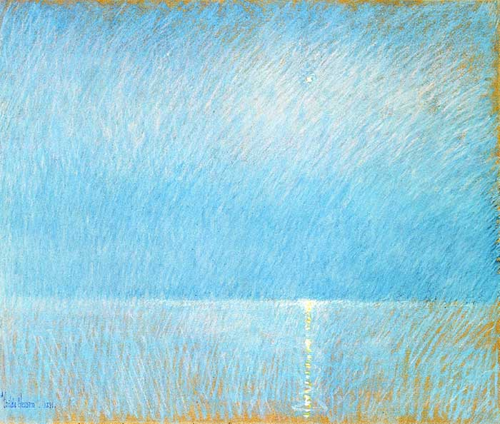 Childe Hassam, The Evening Star, 1891