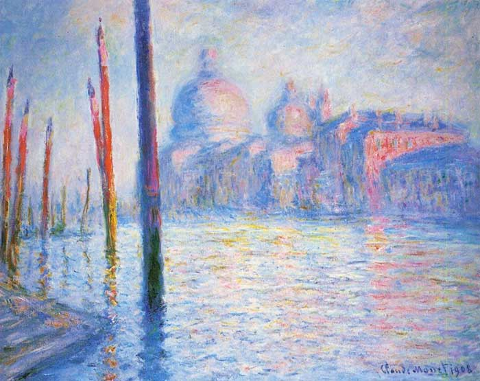 Claude Monet, The Grand Canal 02, 1908