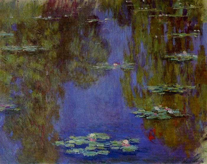 Claude Monet, lirios de agua, 1903