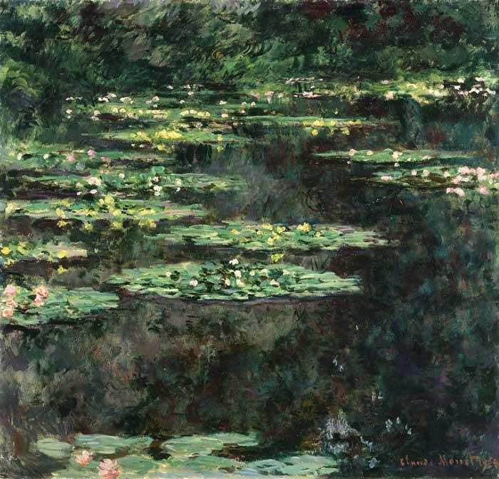 Claude Monet, lirios de agua, 1904