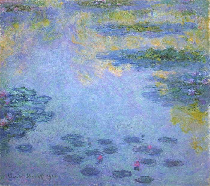 Claude Monet, nenúfares (3), 1906
