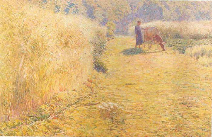 Emile Claus, verano, 1893