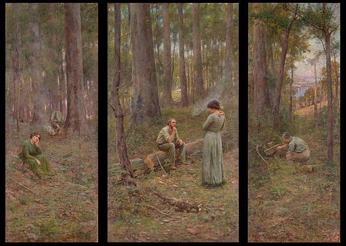 Frederick McCubbin, The Pioneer, 1904