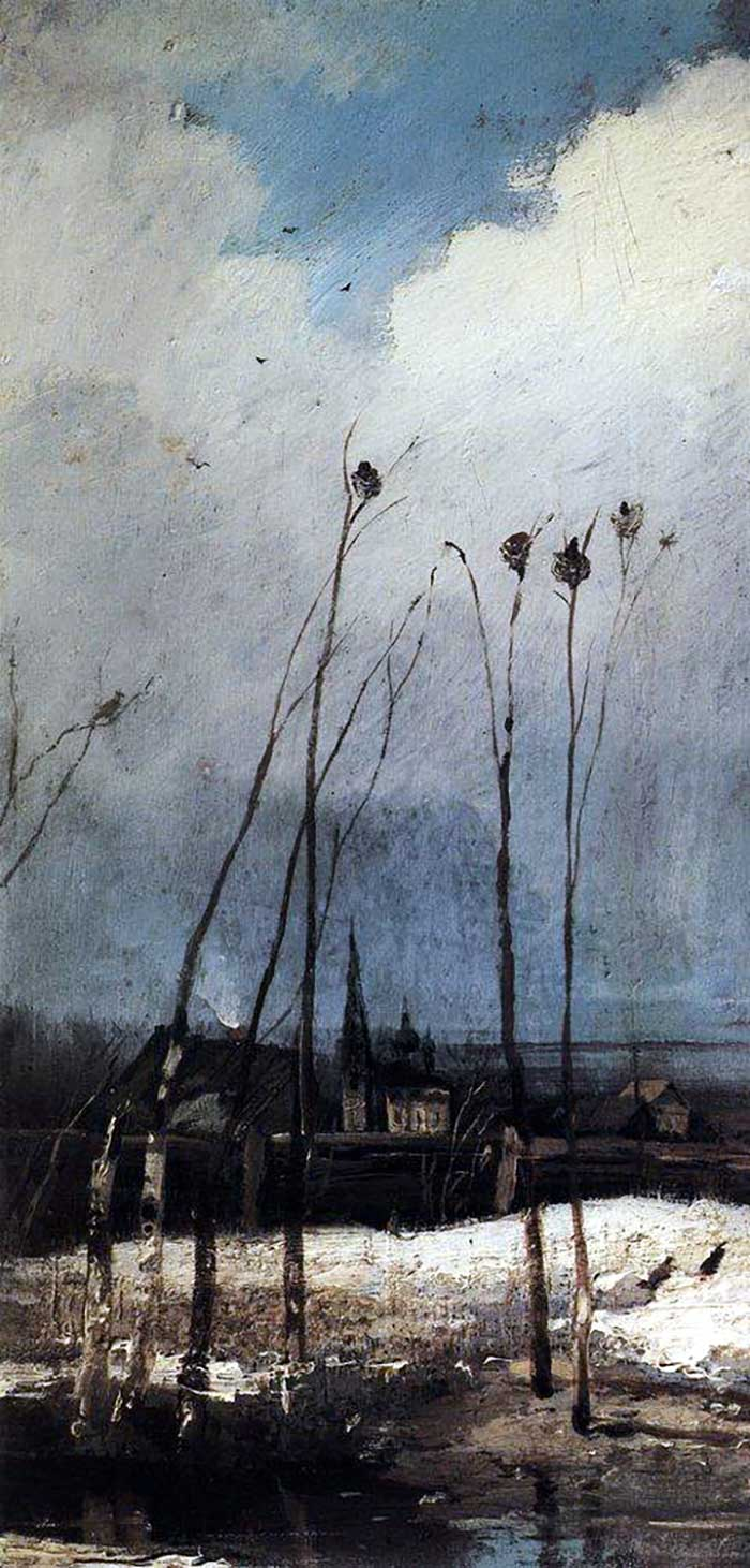 Aleksey Savrasov, The Rooks Have Arrived, 1880