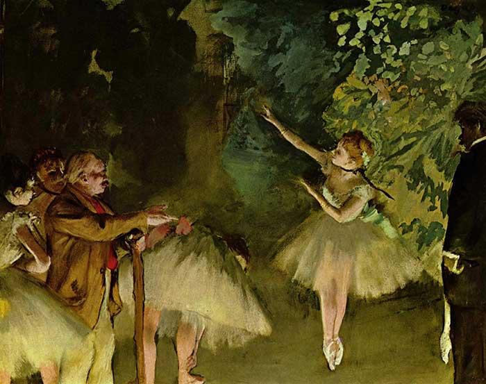 Edgar Degas, Ballet Rehearsal, 1875