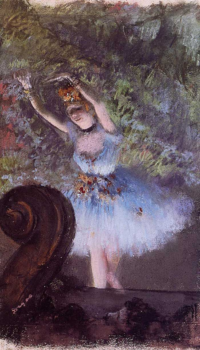 Edgar Degas, Dancer, 1877-1878
