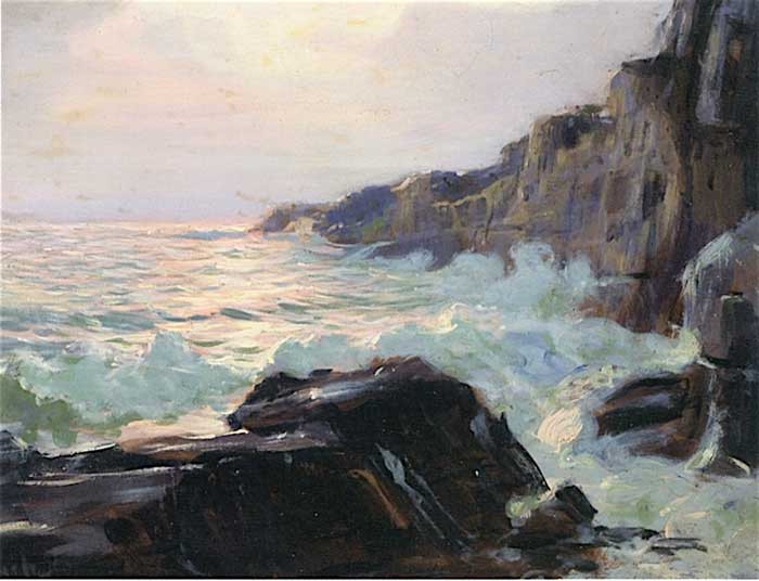 Frederick Judd Waugh, Afternoon Glow