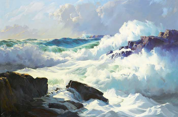 Frederick Judd Waugh, Breaking Surf