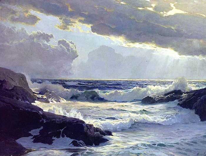Frederick Judd Waugh, Freshening Breeze