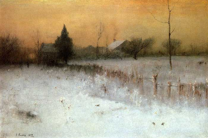 George Inness, Home At Montclair, 1892