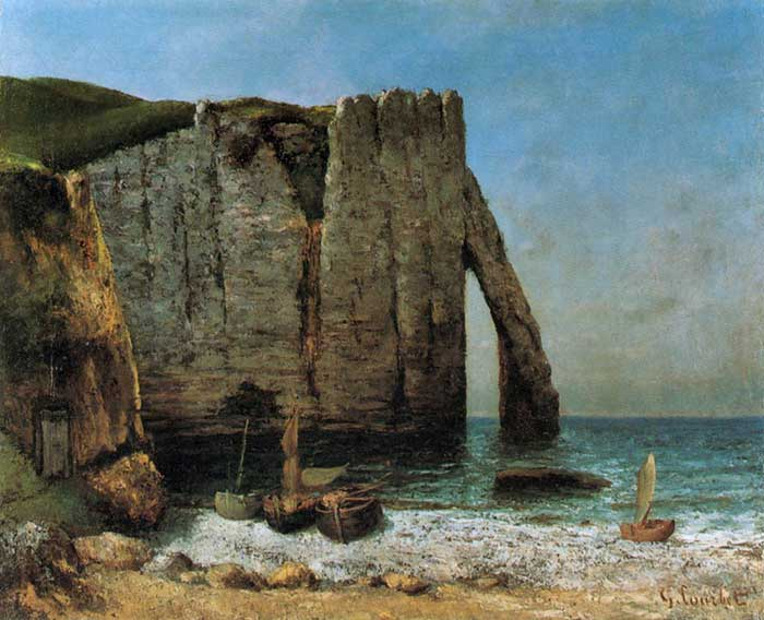 The Cliffs Of Étretat Through The Eyes Of Different Artists