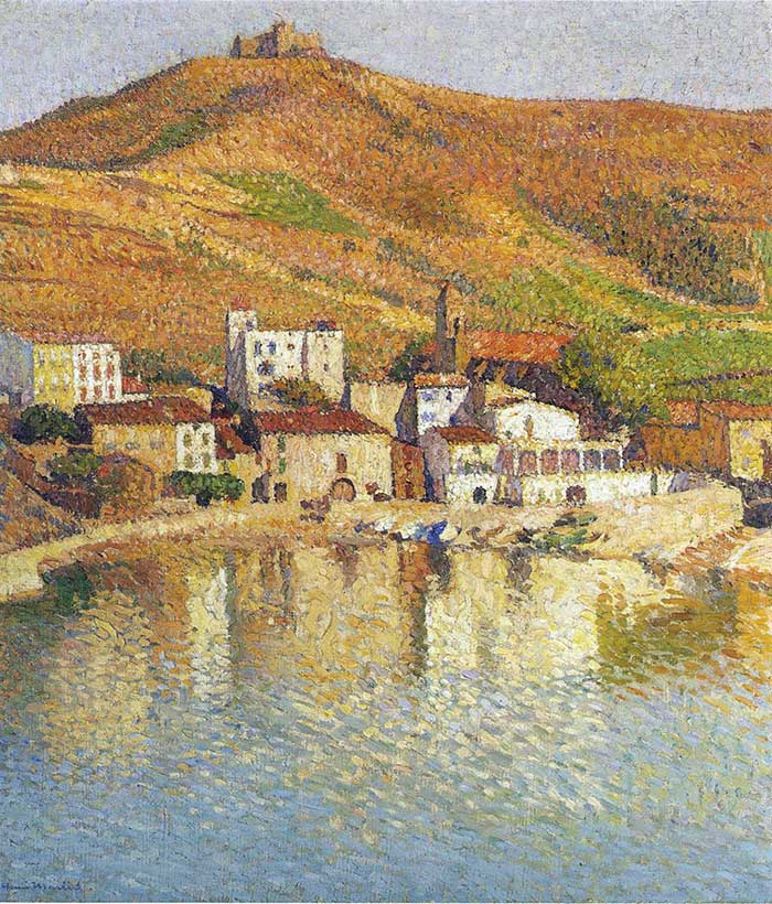 Henri Martin, The Bay Of Colliure Near The Port, 1897