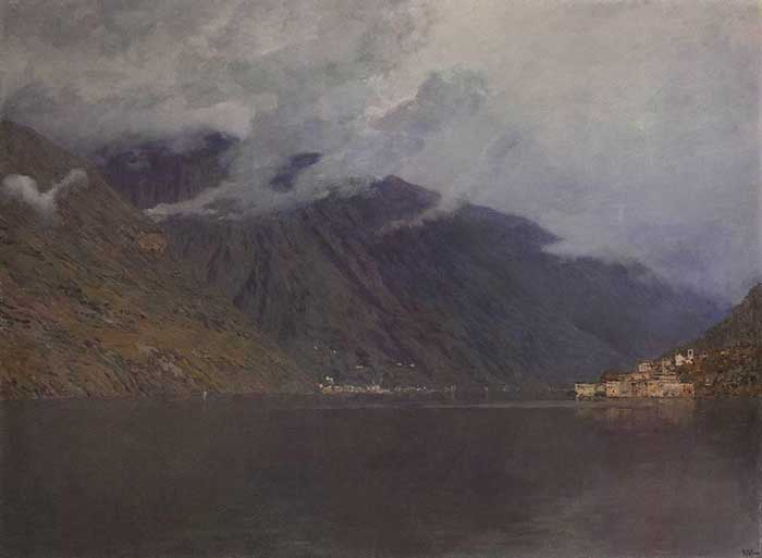 Isaac Levitan, Lake Como, 1894