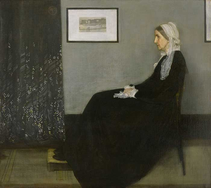 James Abbott McNeill Whistler, Whistler's Mother, 1871