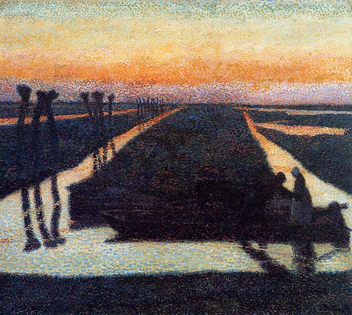 Jan Toorop, Broek In Waterland, 1889